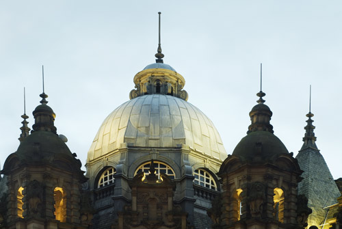The Roof Of Kirkgate Market In Leeds