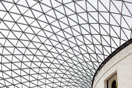 roof in the British Museum