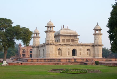 Itimad-Ud-Daulah Viewed From The River