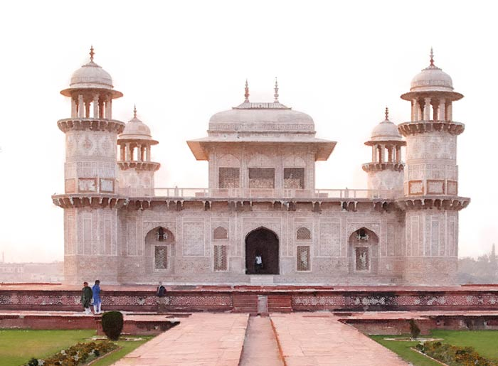 Itimad ud Daulah in Agra, India