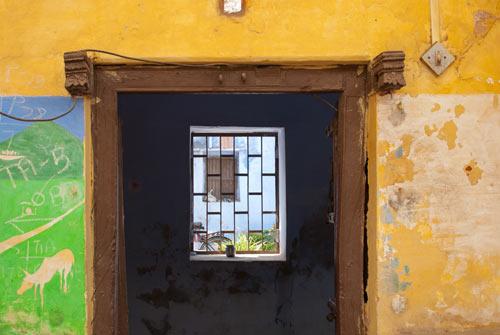 Wall in Bundi