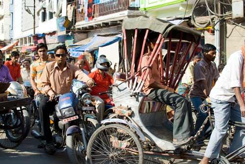 Traffic In Varanasi