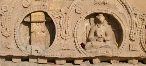 Sarnath Temple Carvings