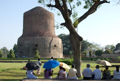 Sarnath Visitors