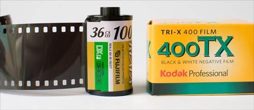 35mm Film From Kodak And Fuji
