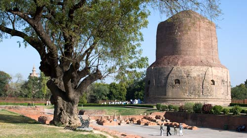 Stupa At Sarnath