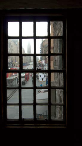 From John Knox's House: Looking Up The High Street