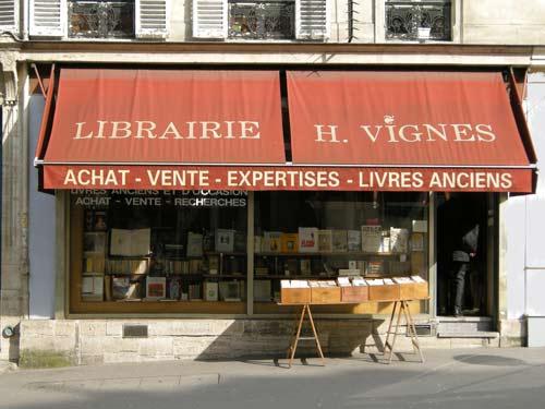 Paris Bookstore
