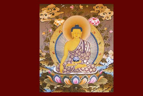 Buddha Wall Hanging - A Quillcards Ecard