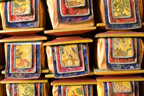 Buddhist Sacred Texts - A Quillcards Ecard