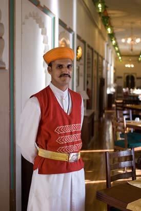 Waiter - Fateh Prakash Palace Hotel
