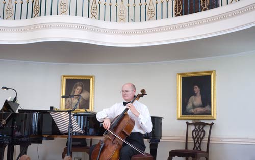 Music At The Pump Room In Bath