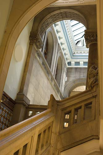 Library Staircase - Leeds