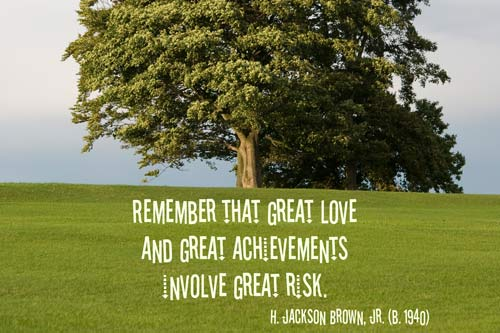 A Quillcards 'Inspiration Quotations' Ecard