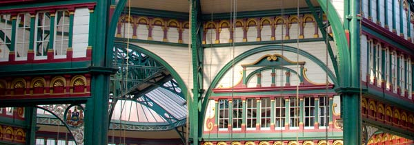 Kirkgate Market Glass Roof Detail