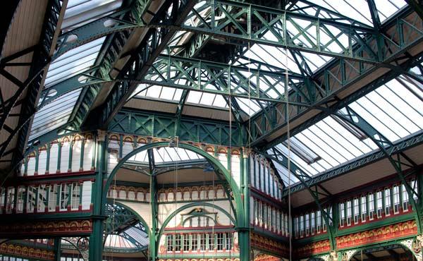 Kirkgate Market Glass Roof