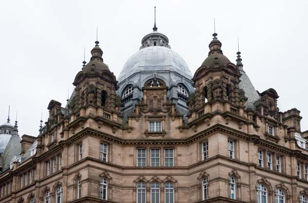 The Roof Of Kirkgate Market