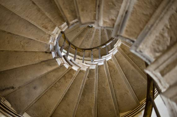 Spiral Staircase In The Monument