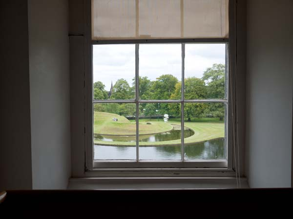 View of the grounds of the Scottish National Gallery Of Modern Art
