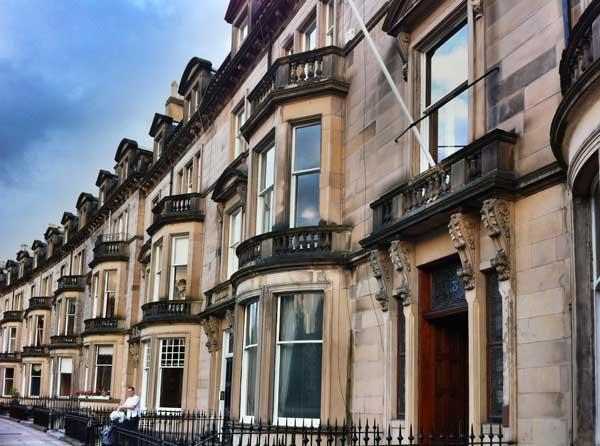 Eglinton Crescent In Edinburgh