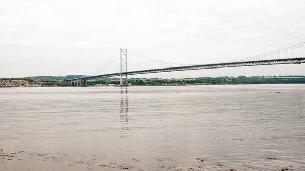 photo of the Forth Road Bridge