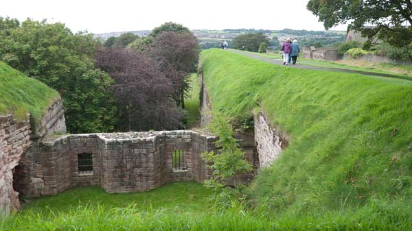 photo of ramparts at Berwick upon Tweed