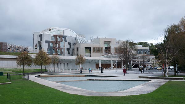 Scottish Parliament - The View From Across The Pond