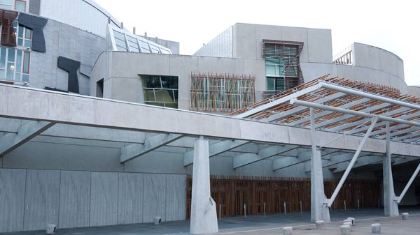 Scottish Parliament  Building - The Ship Of State