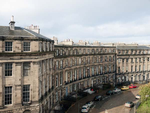 Great Stuart Street Towards Ainslie Place Edinburgh