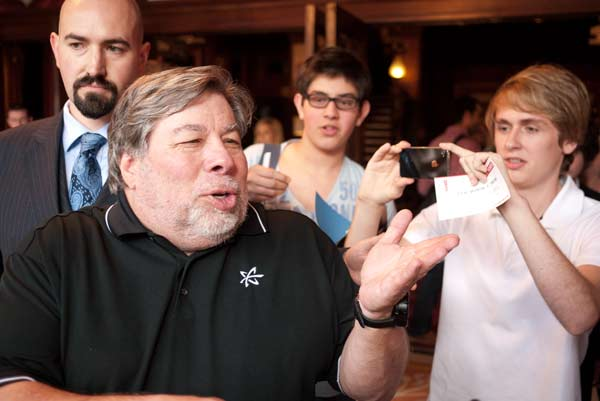 Steve Wozniak At The Turing Festival In Edinburgh