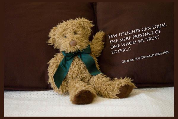 Bear Delight - A Quillcards Ecard