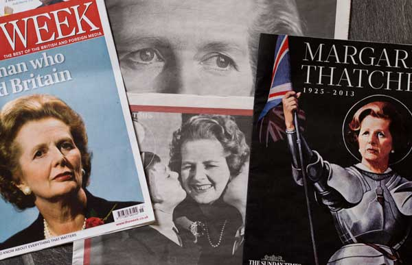 Faces Of Margaret Thatcher
