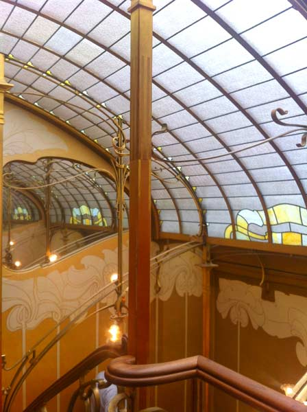 Inside The Horta House - Brussels