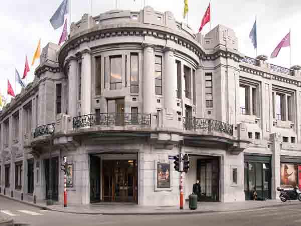Palais des Beaux-Arts - Brussels