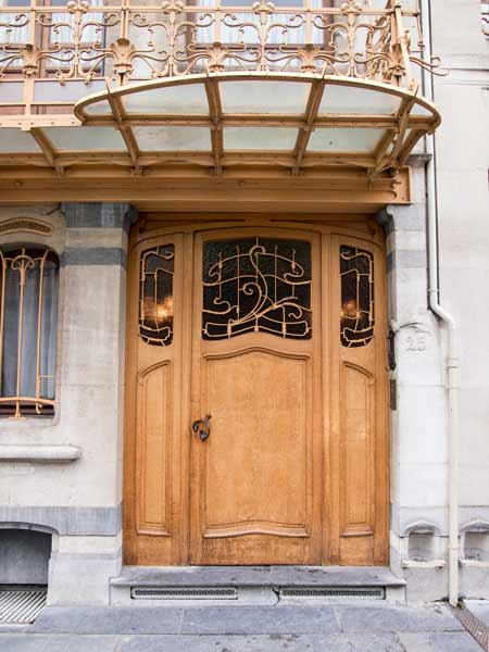 Door At The Horta House - Brussels