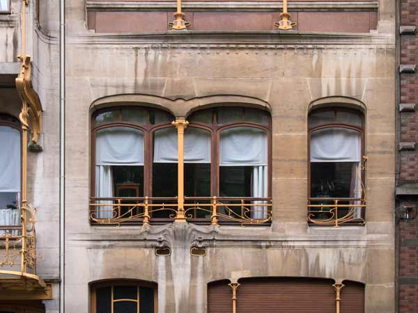 Window In The Horta House - Brussels