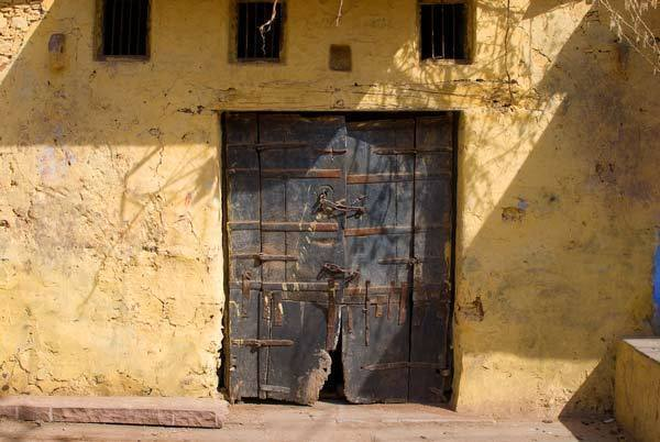 Doors to A Building in Bundi
