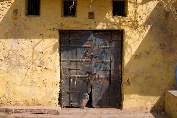 Doors to A Building in Bundi