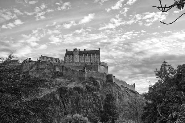 Edinburgh Castle - A Quillcards Ecard