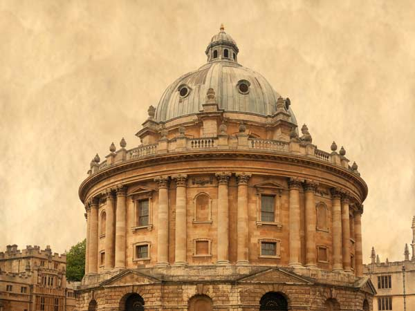 The Radcliffe Camera in Oxford - A Quillcards Ecard Image