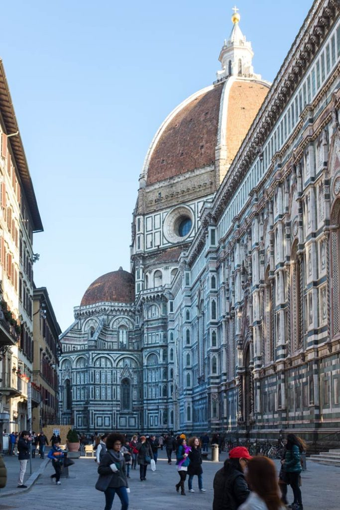 Duomo in Florence seen from Street level