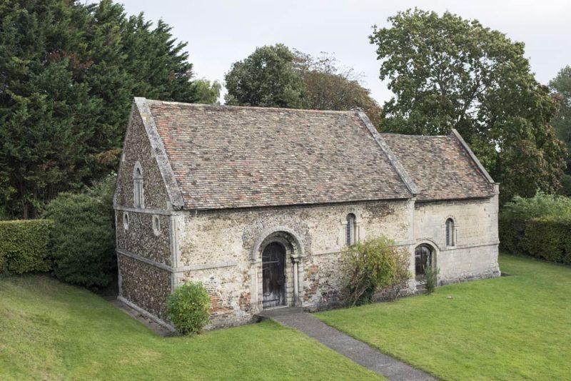 the leper chapel at Stourbridge