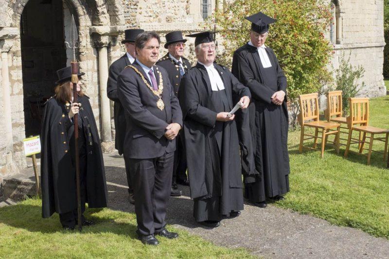 The Provosts Opening Stourbridge Fair With The Stourbridge Cry