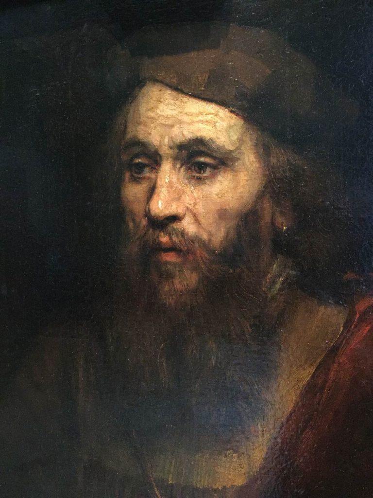 portrait by Rembrandt