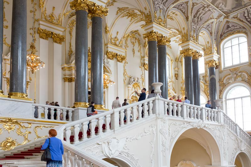 Jordan staircase Winter Palace Saint Petersburg