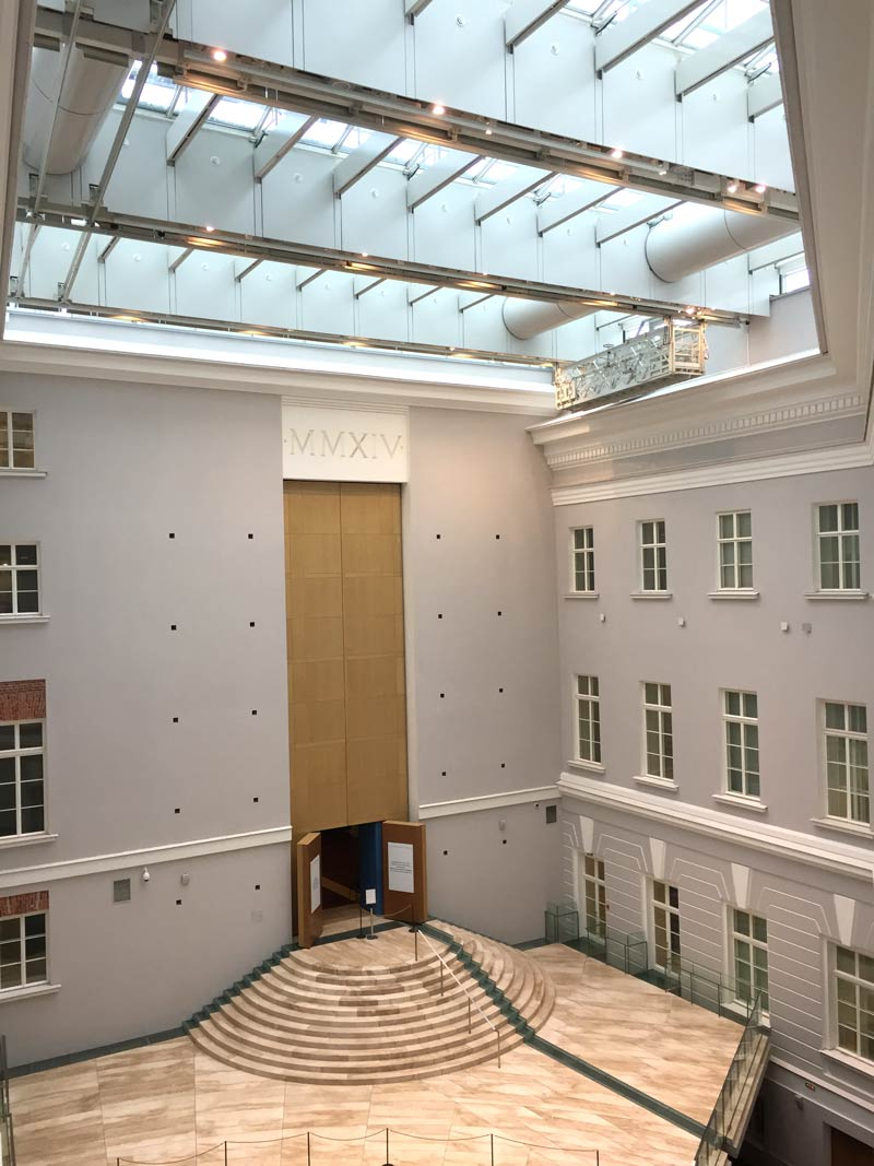 space in the General Staff Building at the hermitage in saint Petersburg