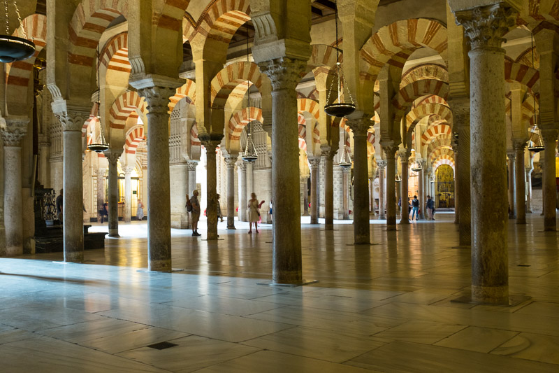 Cordoba - Inside the Mesquita