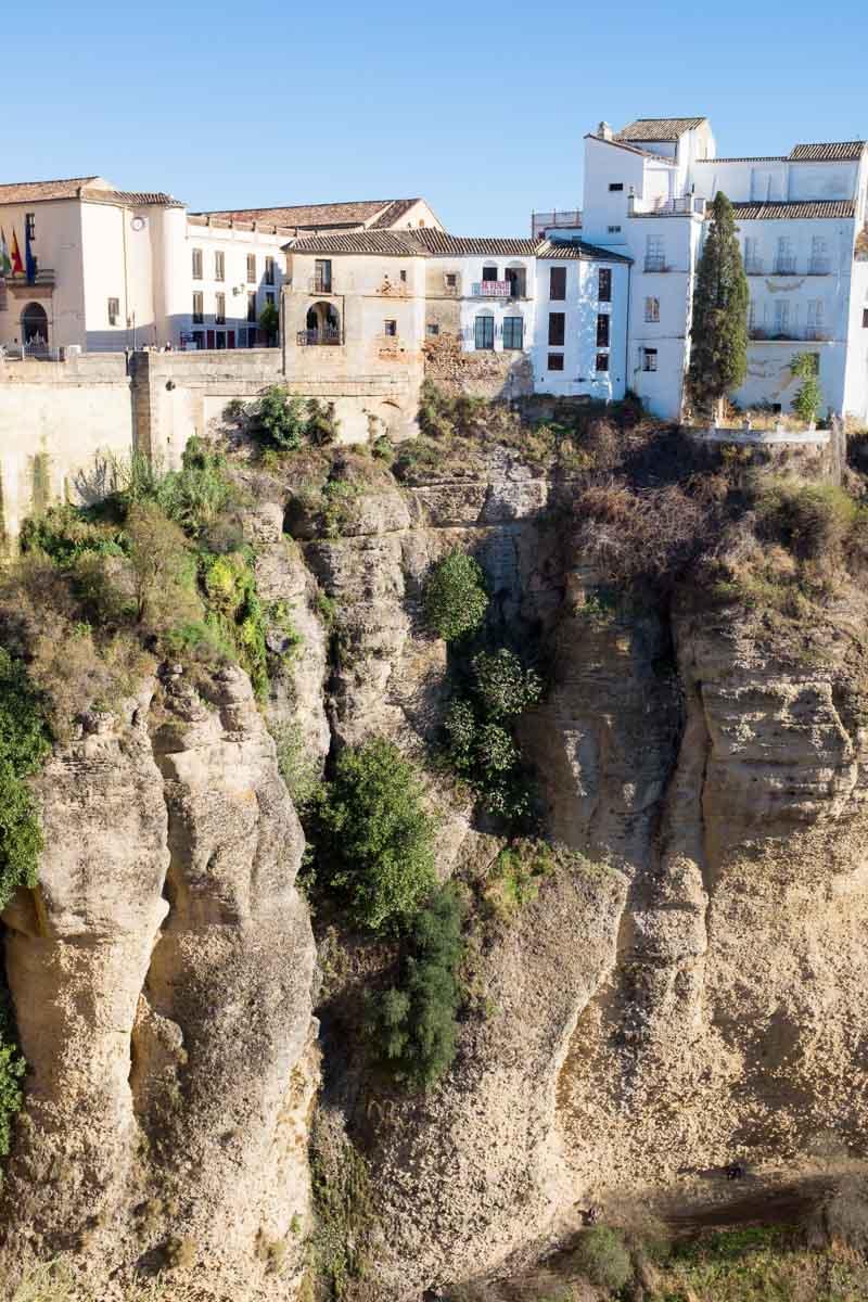 Ronda cliffs