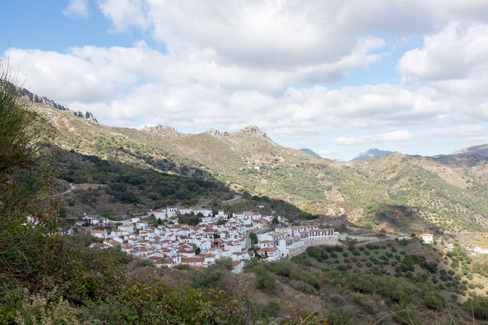 One of the White Towns on the route from Ronda to Malaga